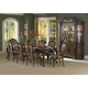 Homelegance Cromwell 9pc Dining Table Set in Cherry