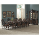 Homelegance Montvail 9pc Dining Table Set in Cherry