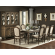 Homelegance Eastover 9pc Dining Table Set in Neutral Gray Diftwood