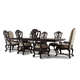 Hooker Furniture Rhapsody 9pc Rectangle Dining Table Set