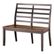 Alonzo Double Dining Chair in Brown