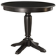 American Drew Camden Round Counter Height Table in Black