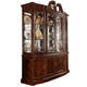 American Drew Cherry Grove Breakfront China Cabinet