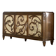 American Drew Jessica McClintock Couture Buffet w/ Stone Top CLEARANCE