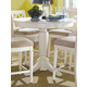 American Drew Camden Round Counter Height Table in White CODE:UNIV20 for 20% Off