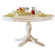 American Drew Camden Round Dining Table in White