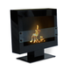 Anywhere Fireplace Tribeca II Floor Standing Fireplace in Satin Black