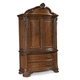 A.R.T. Old World Armoire in Warm Pomegranate