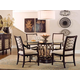 A.R.T. Intrigue Round Glass Top Dining Set