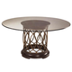 A.R.T. Intrigue Round Glass Top Dining Table