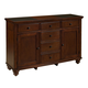 Aspenhome Cambridge Server in Brown Cherry ICB-6802 CLEARANCE
