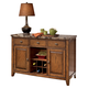 Lacey Dining Room Server in Brown