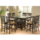 Coaster Rich Cappuccino Counter Height Dinette Set