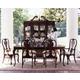 Kincaid Carriage House Solid Wood Rectangular Dining Leg Table Set