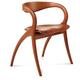 Domitalia Star Wooden Chair in Light Cherry