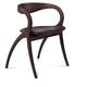 Domitalia Star Wooden Chair in Wenge