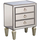 Pulaski Mirrored Chairside Chest
