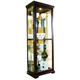 Pulaski Chocolate Cherry II Two Way Sliding Door Curio