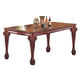Coaster Tabitha Rectangular Dining Table in Cherry