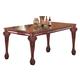 Coaster Tabitha Rectangular Dining Table in Cherry