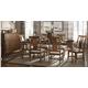 Kincaid Cherry Park Solid Wood Rectangular Leg Table Dining Set