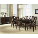 Somerton Cirque Oval Dining Set in Merlot