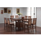 Coaster Rich Walnut Counter Height Dinette
