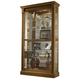 Pulaski Estate Oak Two Way Sliding Door Curio