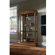 Pulaski Golden Oak Two Way Sliding Door Curio