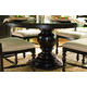 Paula Deen Home Round Pedestal Table in Tobacco