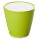 Domitalia Omnia Multifunctional Glass Top Outdoor Table in Green