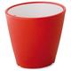 Domitalia Omnia Outdoor Vase in Red