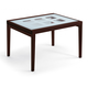 Domitalia Poker-120 Extendable Rectangular Table in Wenge