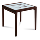 Domitalia Poker-90 Extendable Square Table in Wenge