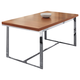 Domitalia Spice Rectangular Extendable Table in Walnut