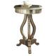 Pulaski Mirrored Pedestal Table