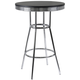 Coaster Metal Bar Table in Black 2405