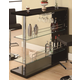 Coaster Rectangular Bar Unit in Black 100165