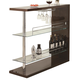 Coaster Rectangular Bar Unit in Cappuccino 100166