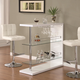 Coaster 3pc Rectangular Bar Set in White