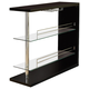Coaster Contemporary Bar Unit in Black 101063