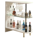 Coaster Contemporary Bar Unit in White 101064