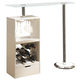 Coaster Bar Table in White 120452