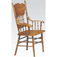 Acme Nostalgia Arm Chair in Oak Finish (Set of 2) 02186A-C