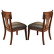 Somerton Studio Side Chair in Rich Walnut (Set of 2) 431-33