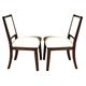 Somerton Soho Side Chair in Dark Brown (Set of 2) 432-33