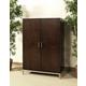 Somerton Soho Storage Cabinet in Dark Brown 432-74