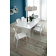 Domitalia 9pc  Stone-T 200 Double Pedestal Rectangular Dining Room Set