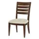American Drew Miramar Slat Back Side Chair in Auburn (Set of 2) 218-636