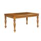 American Drew Grand Isle Rectangle Leg Table in Amber